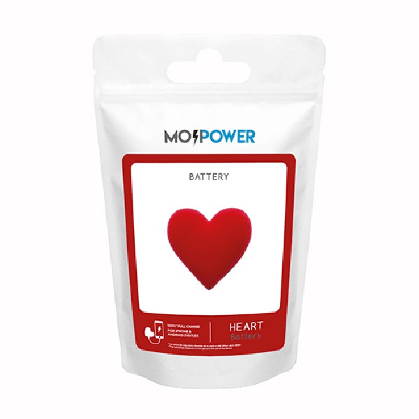 Powerbank Coração Mojipower 2600mAh