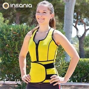 Chaleco y Cinturón Deportivo Femenino X-Tra Sauna