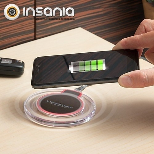 Carregador sem Fios para Smartphones QI