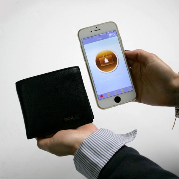 Carteira Bluetooth Anti-roubo