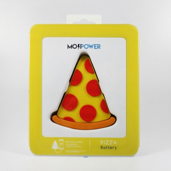 Powerbank Fatia de Pizza Mojipower 2600mAh