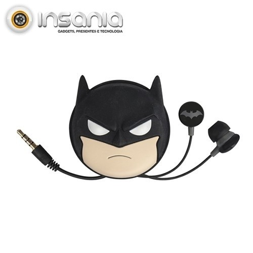 Auriculares Tribe Baggy DC Comics Batman