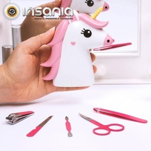 Kit de Manicure Unicórnio