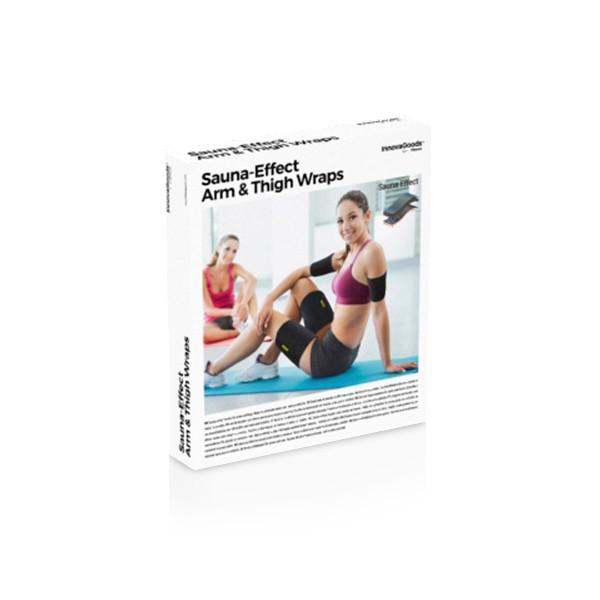 Tiras deportivas con efecto sauna para brazos y piernas