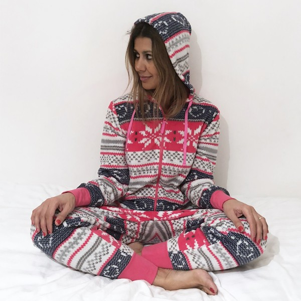 Pijama Macacão Coral Elise