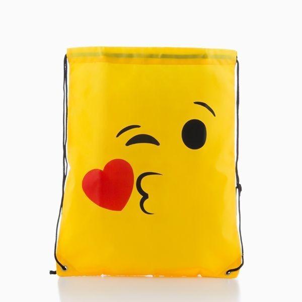 Bolso Mochila con Cuerdas Emoticons