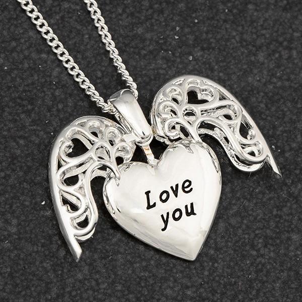 Colar do Amor Mensagem Love You Equilibrium