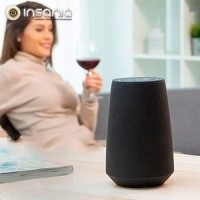 Coluna Bluetooth Inteligente Assistente de Voz