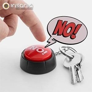 Porta-chaves Botão Sonoro NO