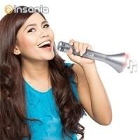 Microfone Coluna Bluetooth Portátil
