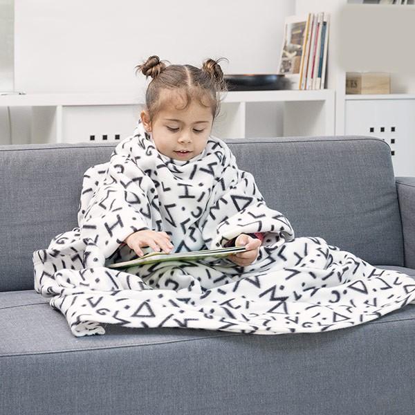 Manta com Mangas Infantil Símbolos
