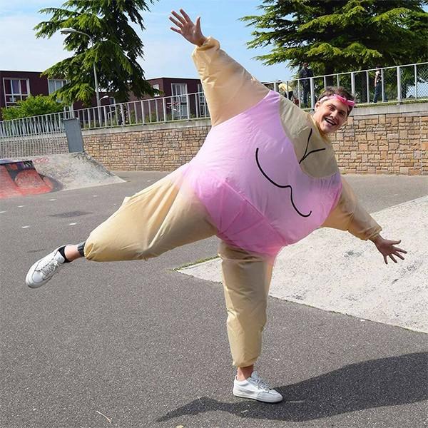 Fato Bailarina Insuflável