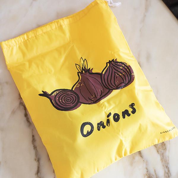 Bolsa para Conservar Cebolas