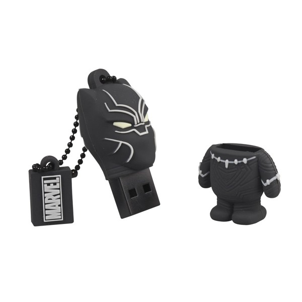 Tribe Pen Drive Marvel Black Panther 16GB Negro