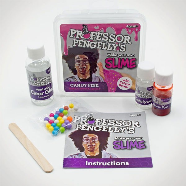 Kit para Fazer Slime Candy Pink