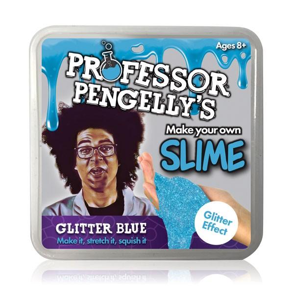 Kit para Fazer Slime Azul Glitter