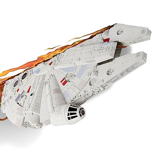 Millennium Falcon - Lámpara decorativa 3D