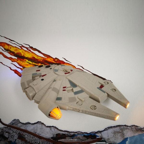 Millennium Falcon 3D Decorative Lamp