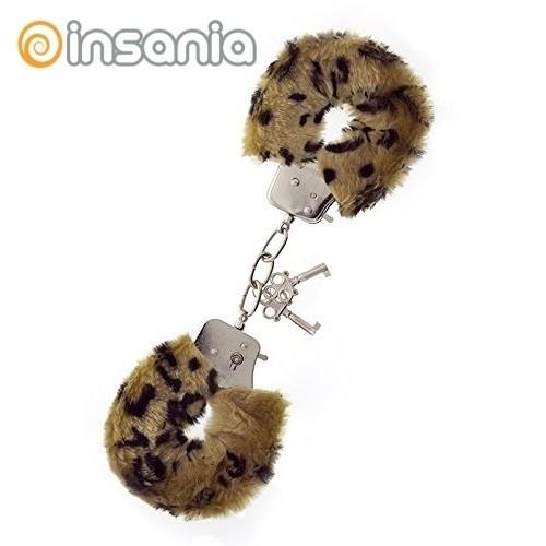 Algemas Almofadadas Padrão Leopardo
