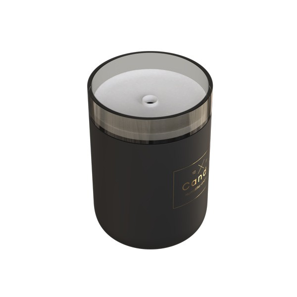 Humidificador Candle Light Qushini Preto