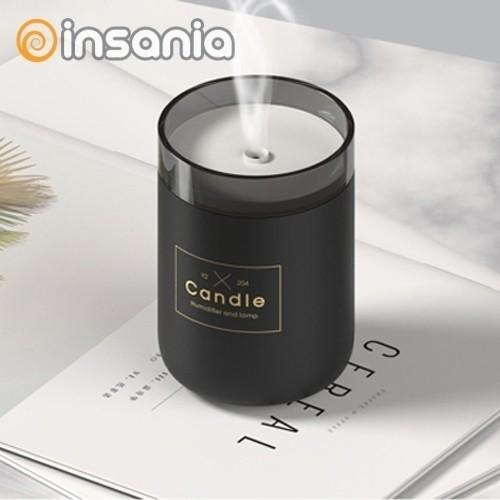 Humidificador Candle Light Qushini Preto