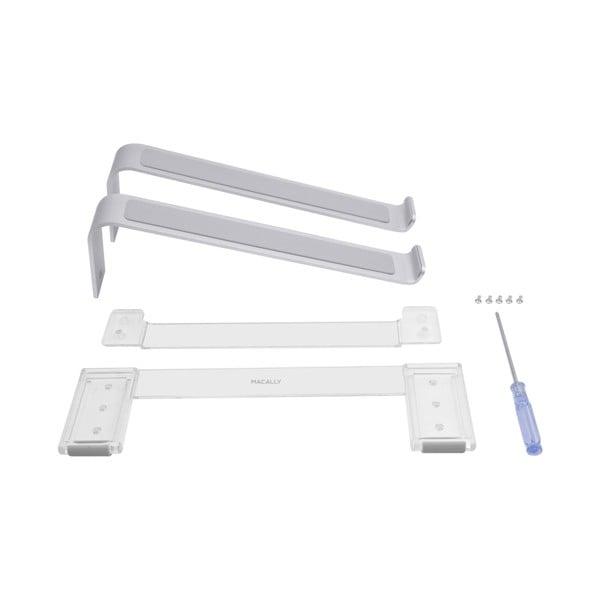 Soporte de aluminio ajustable Macally para portátil