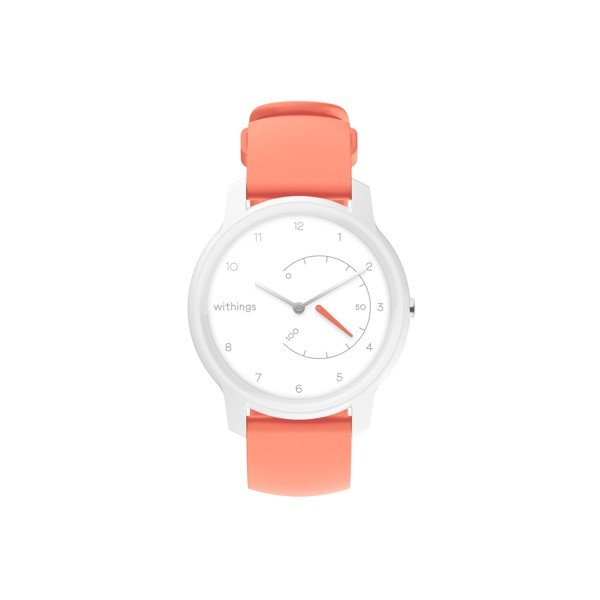 Relógio Desportivo Move Withings Coral e Branco