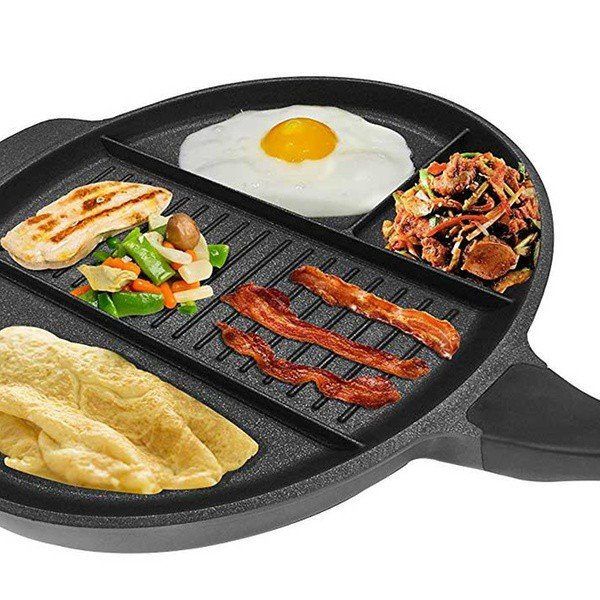 Frying Pan with 4 Compartments Jocca