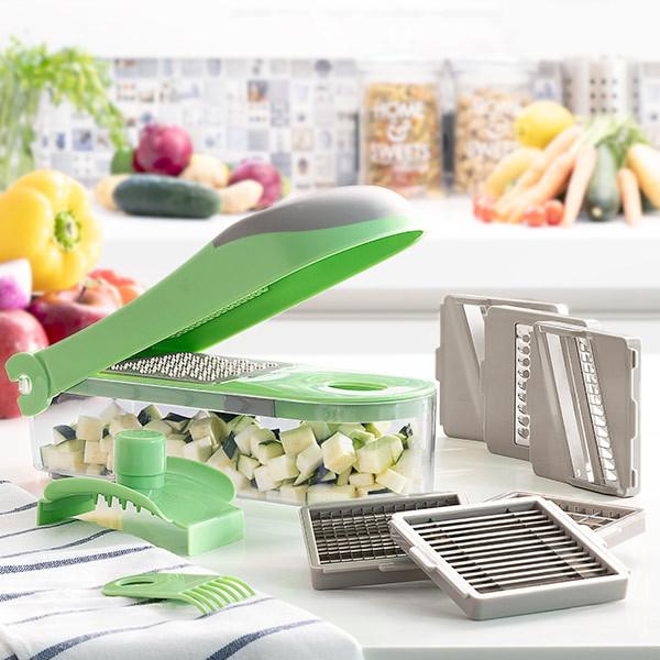 Cortador de verduras y Grator 8 en 1
