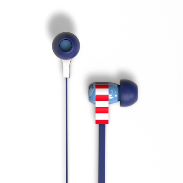 Tribe Marvel Captain America - Auriculares de diadema