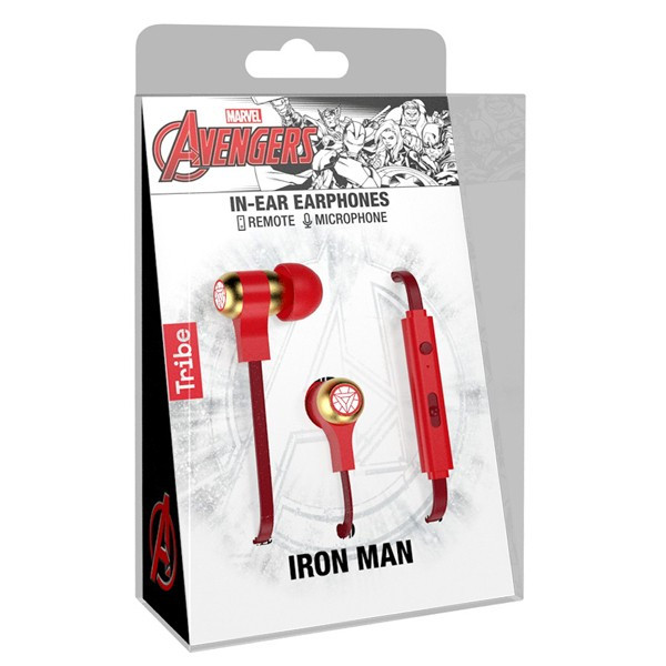 Tribe Auriculares Swing Marvel Iron Man