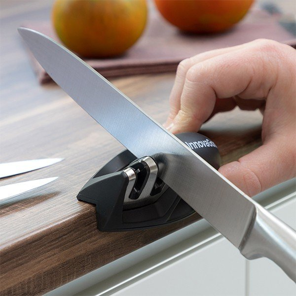 Afilador de cuchillos compacto