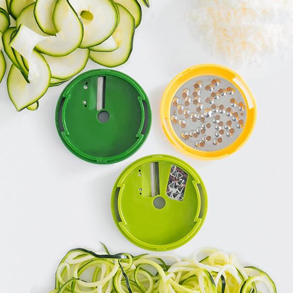 Ralador e Cortador de Legumes em Espiral