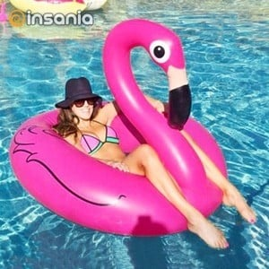 Colchão Insuflável Flamingo