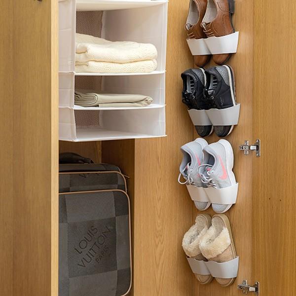Suportes para Sapatos Adesivos (4 Pares)