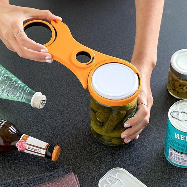 Abre-garrafas Multifunções 5-em-1