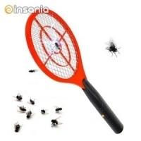 Raquete Elétrica Mata-moscas