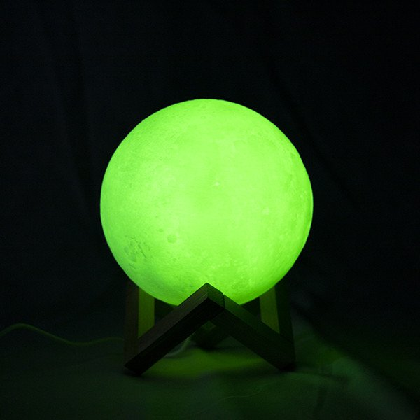 Candeeiro Lua 3D