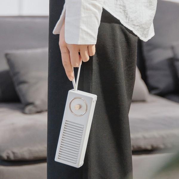 Coluna Portátil Bluetooth Retro Qushini