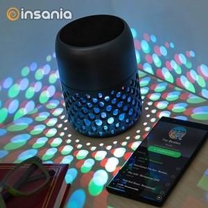 Lámpara LED con altavoz Bluetooth