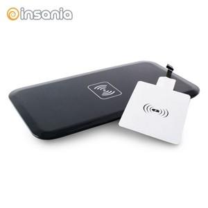 Cargador inalámbrico QI con receptor micro USB QI